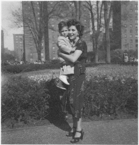 Elaine and Jeff 1949