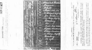 Gussie birth certificate