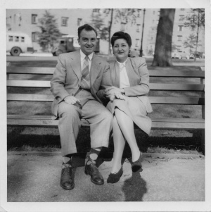 Maurice and Lynn 1946