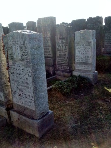 Bessie and Philip Moskowitz headstones