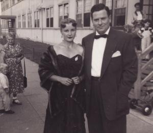 Saul and Vicki Brotman late 1940s