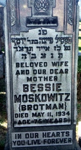 Bessie headstone enhanced