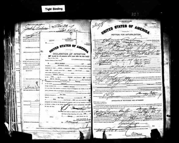SelectedU.S.NaturalizationRecords-OriginalDocuments1790-1974ForHermanBrotman