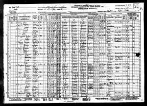 Kaufman family 1930 census