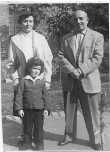 My grandparents and me 1956