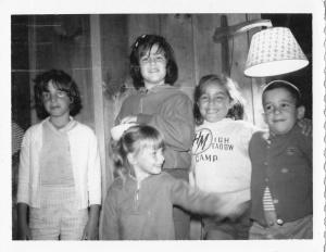 cousins at our Wellfleet cottage