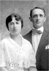 David Adler and his wife Bertha