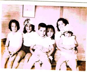 Julie, Suzie, Ira, Beth, Amy and Robin 1962