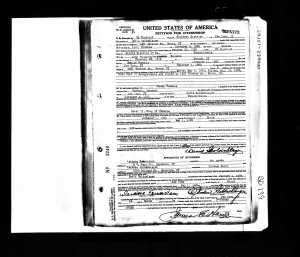 David Goldschlager Naturalization Record