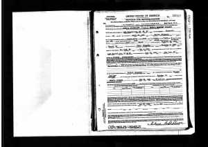 Rebecca Goldschlager's naturalization papers