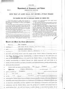 bond application p.1