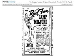 Camp_Milford_ad_1948