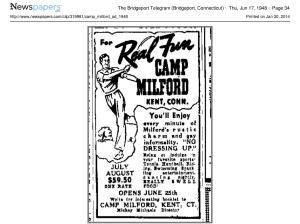 Camp_Milford_ad_1948