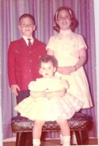 Estelle's children Barry Robyn and Karyn 1963