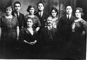 Feuerstein Family (Betty at far left)