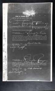 naturalization petition gustave rosenzweig