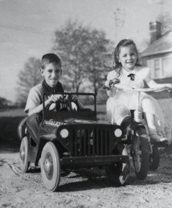 Jeff and Beth c. 1954