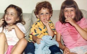 Maddy, Mark and Rebecca
