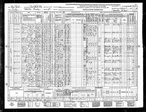 Nathan, Gertrude and Susanne Mintz 1940 census