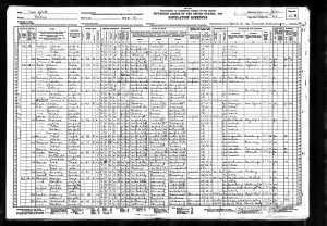 Susan Mintz 1930 census