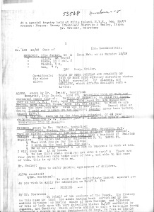 transcript listing Srulovici children