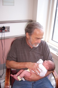 My father with Nate June 2010