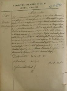 Bertha (Bruha) Strolowitz Adler birth record