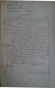 Ghidale Rosentzveig with Ghitil Zacu_Marriage Record_1884_3