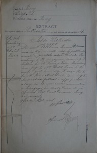 Gustave and Gussie Rosenzweig marriage record
