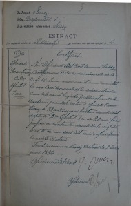 Ghidale Rosentzveig with Ghitil Zacu_Marriage Record_1884_5