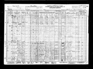Gussie Rosenzweig 1930 census