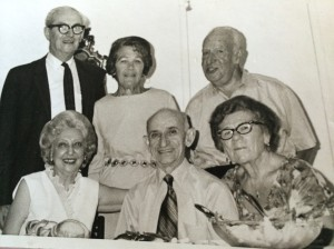 Joe and Sadie with unknown others
