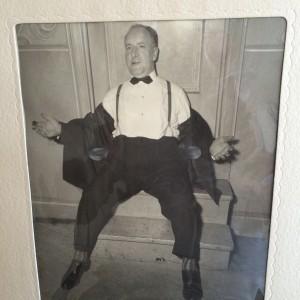 Joe Rosenzweig at Mildred's wedding 1947