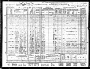 John Rosenzweig 1940 census