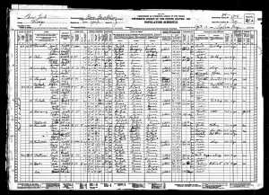 Joseph and Sadie 1930 census