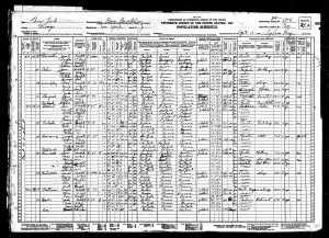 Joseph and Sadie 1930 census