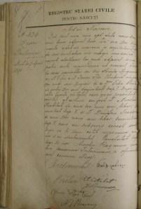 Zissu Strulovici birth record