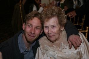 Aron and his grandmother Irene