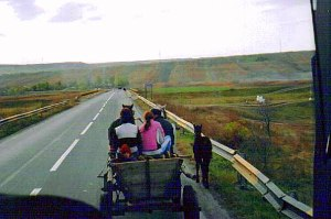 Gypsy wagon, near Iasi (Yash)