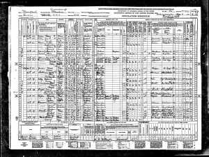 Joe and Perle Brotman 1940 census