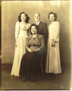 Joe and Sadie and their daughters