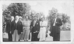 The Feinman and Brotman families June 16, 1932