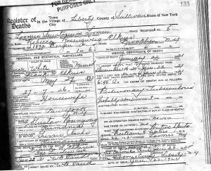 rebecca elkin death certificate