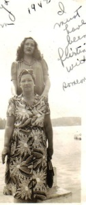 Sadie and Mildred 1942