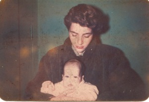 My mother and me 1952