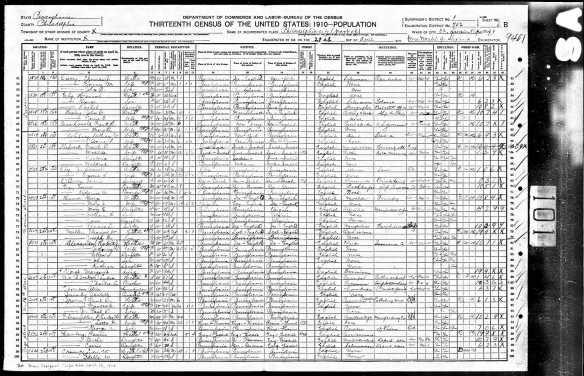 Hamberg family 1910