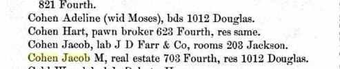 Title : Sioux City, Iowa, City Directory, 1888 Source Information Ancestry.com. U.S. City Directories, 1821-1989