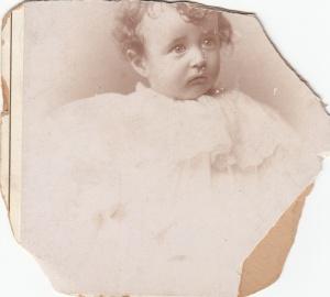 John Cohen as a baby