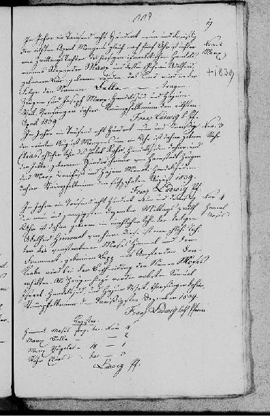 Moses Himmel birth record 1839 detail