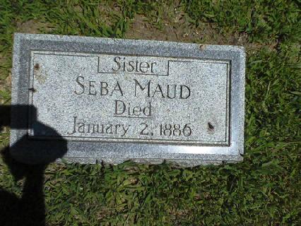 Seba Maude Cohen headstone